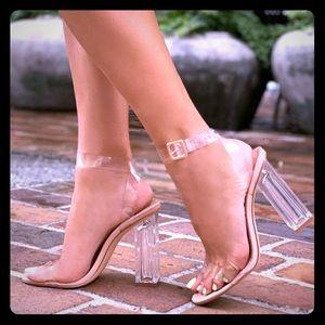 Fashion Nova The Glass Slipper